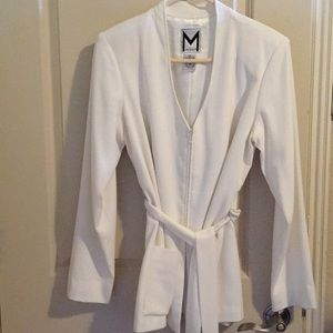 Marc Bouwer White Blazer